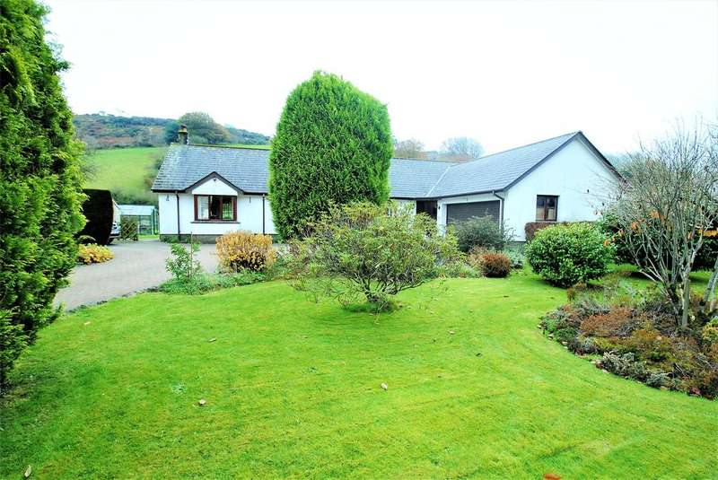 3 Bedrooms Detached Bungalow for sale in Brendon, Lynton