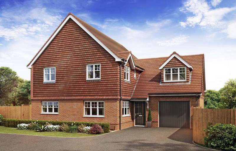 4 Bedrooms Detached House for sale in Hyde End Road, Spencers Wood, Reading, RG7