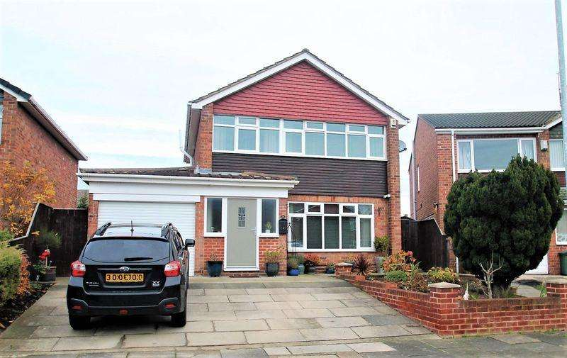 3 Bedrooms Detached House for sale in Shadforth Drive, Billingham