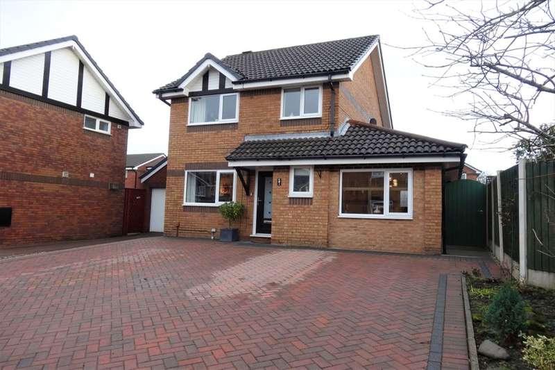 3 Bedrooms Detached House for sale in Easton Close, Fulwood, Preston, PR2