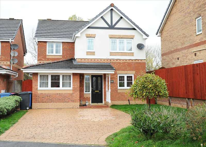 4 Bedrooms Detached House for sale in 6 Howleys Close, Irlam M44 6RY