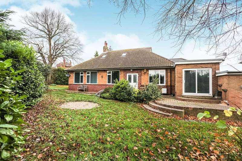 4 Bedrooms Detached Bungalow for sale in Lidgett Lane, Dinnington, Sheffield, S25