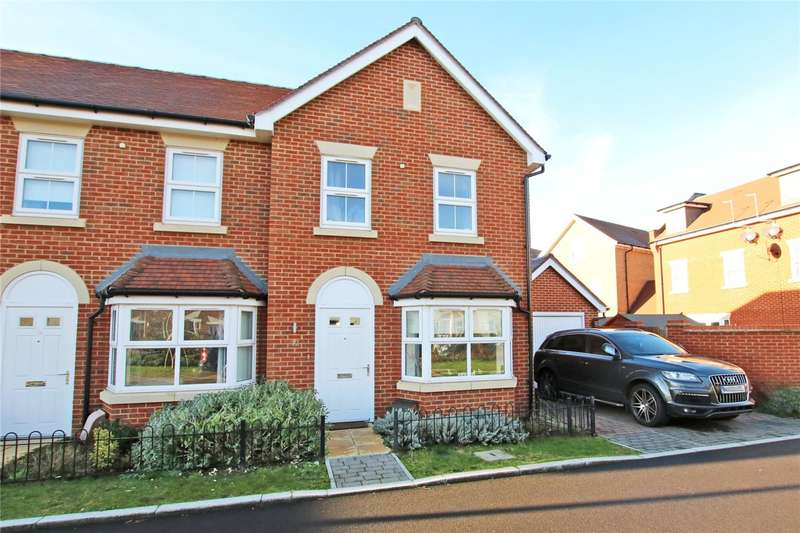 2 Bedrooms End Of Terrace House for sale in Reservoir Crescent, Reading, Berkshire, RG1