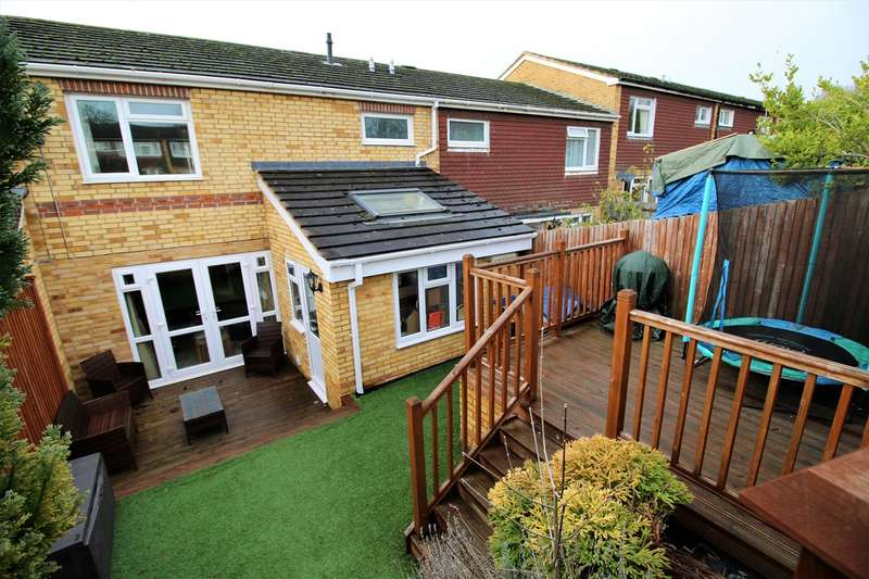 3 Bedrooms Terraced House for sale in Hereford Road, Basingstoke, RG23