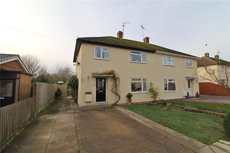3 Bedrooms Semi Detached House for sale in West Road, Tallington, Stamford, PE9