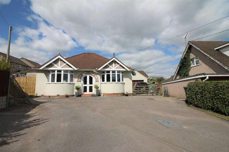 3 Bedrooms Detached Bungalow for sale in Station Road, Milkwall