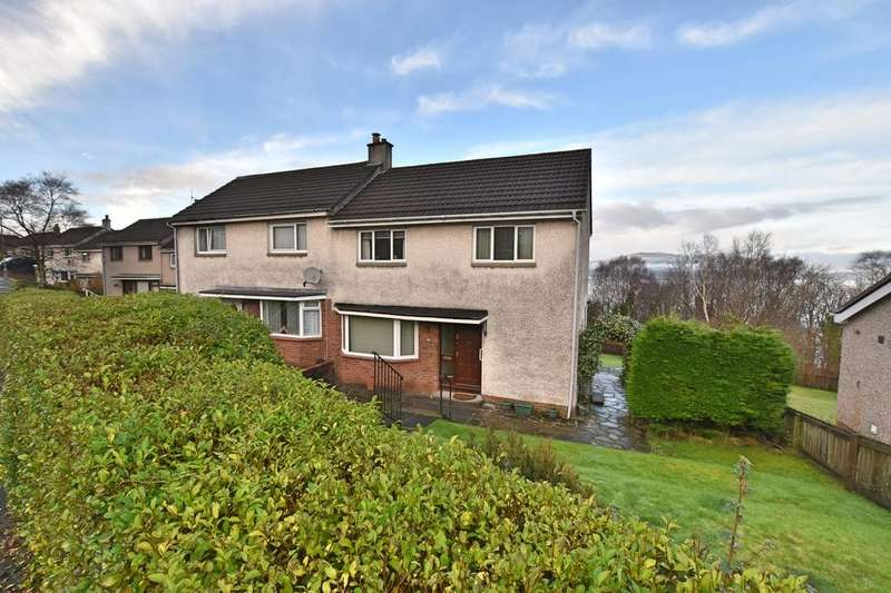 3 Bedrooms Semi Detached House for sale in ST ANDREWS DRIVE, GOUROCK PA19