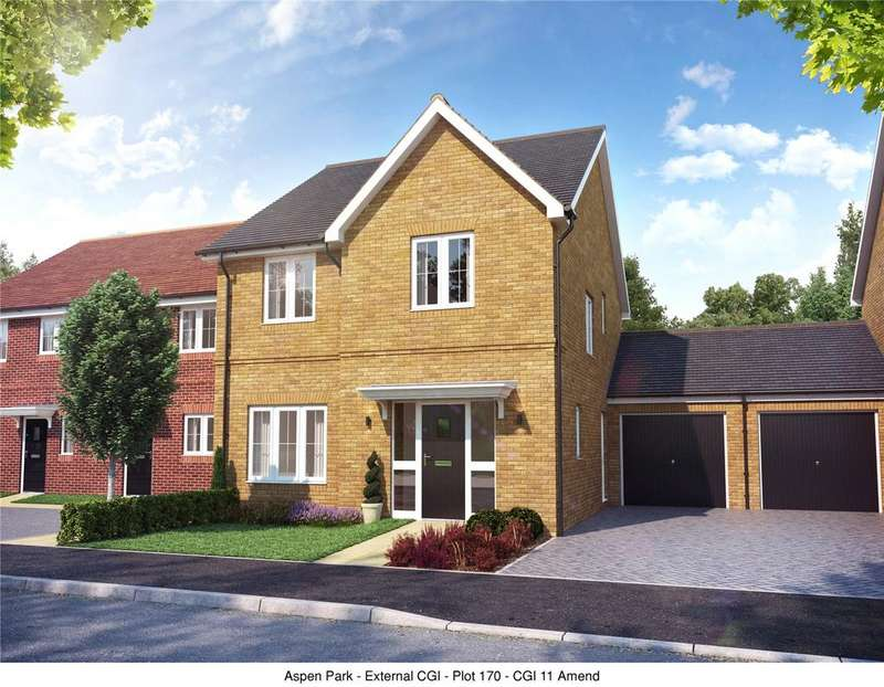 4 Bedrooms Link Detached House for sale in Plot 132, The Larfield, Aspen Park, Haddenham, Aylesbury, Buckinghamshire, HP17
