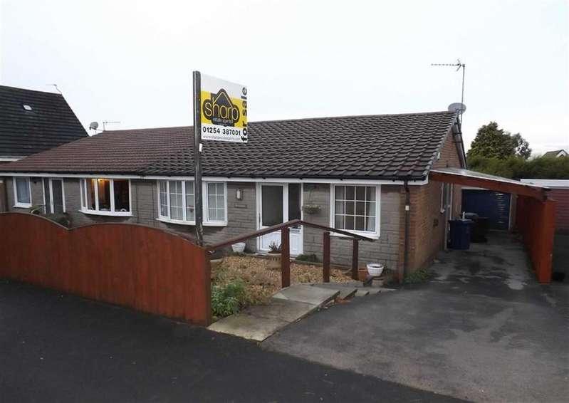 3 Bedrooms Semi Detached Bungalow for sale in Fern Avenue, Oswaldtwistle