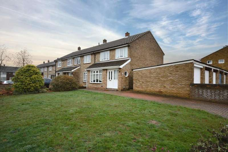 3 Bedrooms End Of Terrace House for sale in Cuttys Lane, Stevenage