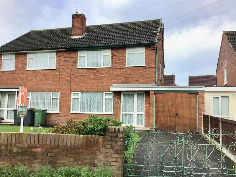 3 Bedrooms Semi Detached House for sale in Union Street, Hadley, Telford