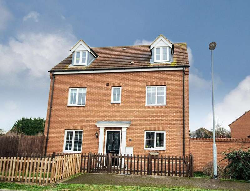 5 Bedrooms Detached House for sale in St Johns Road, Arlesey, SG15