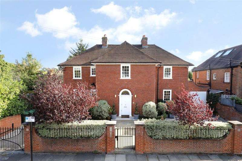 6 Bedrooms Detached House for sale in Ernle Road, Wimbledon, SW20