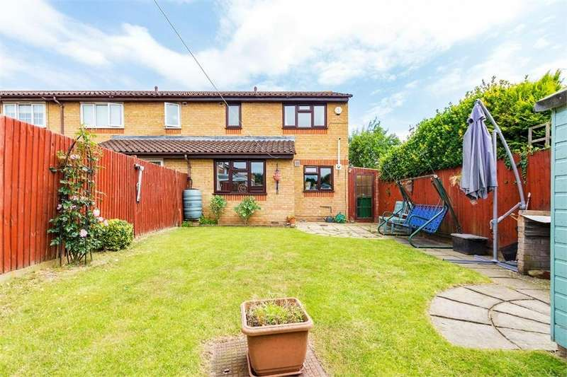 3 Bedrooms End Of Terrace House for sale in Walpole Road, Cippenham, Berkshire