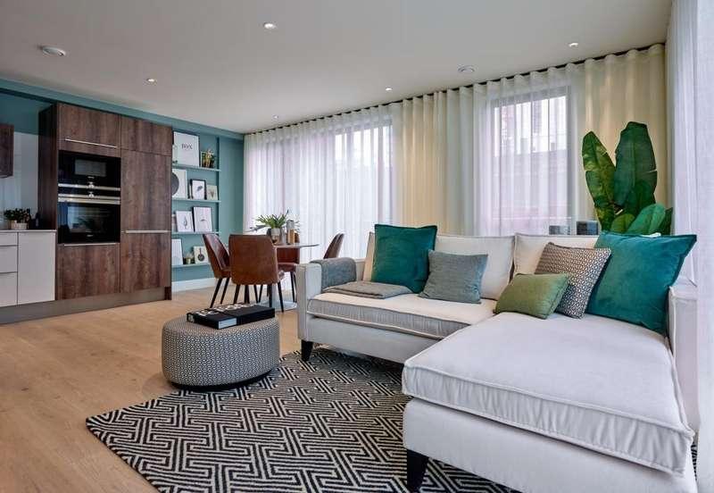2 Bedrooms Apartment Flat for sale in Battersea Exchange, Battersea Park Road, Battersea, SW8