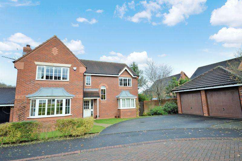 5 Bedrooms Detached House for sale in Stoneleigh Grove, Muxon, Telford, Shropshire.