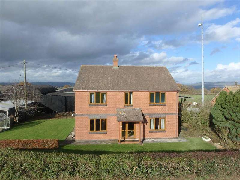 4 Bedrooms Detached House for sale in Leysters, Hereford