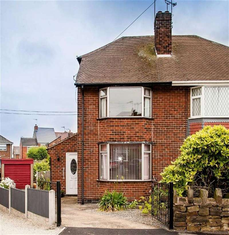 3 Bedrooms Semi Detached House for sale in Melville Crescent, Brimington, Chesterfield, Derbyshire, S43