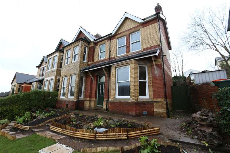 5 Bedrooms Semi Detached House for sale in Llanthewy Road, Newport, Gwent, NP20 4LD