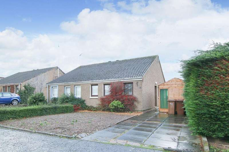 2 Bedrooms Semi Detached Bungalow for sale in 40 Chalybeate, Haddington EH41 4NX