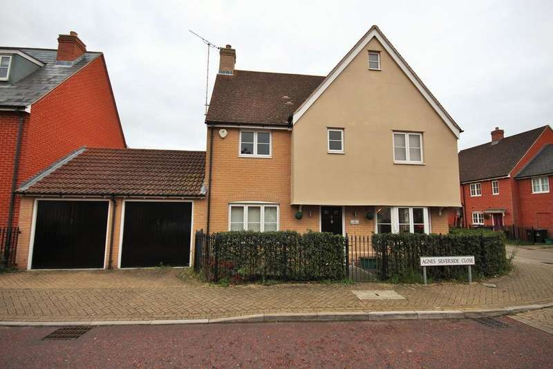 4 Bedrooms Detached House for sale in Agnes Silverside Close, Colchester, CO2
