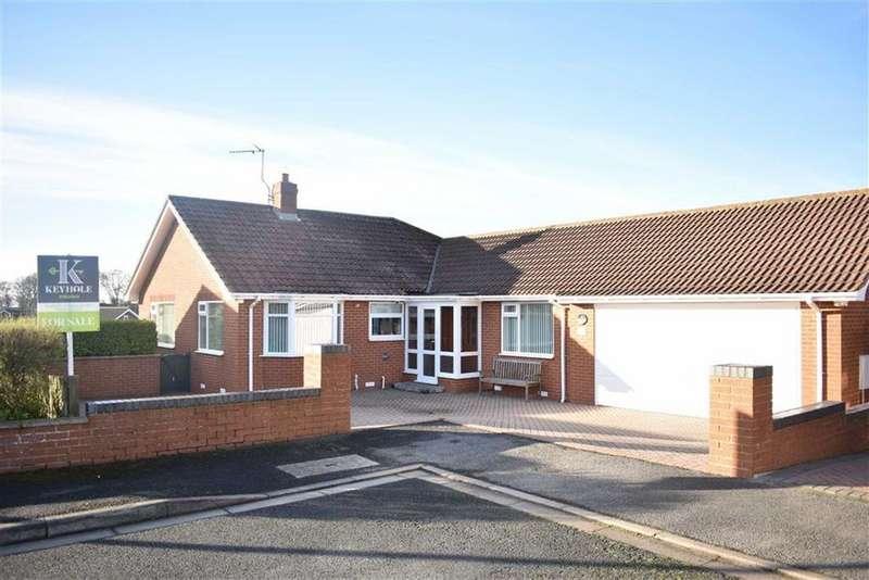 2 Bedrooms Detached Bungalow for sale in Keppel Close, Bridlington