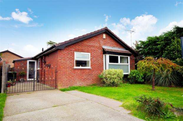3 Bedrooms Detached Bungalow for sale in Morgan Close, Blacon, Chester