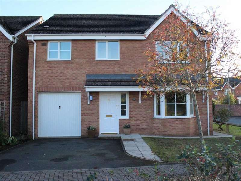 4 Bedrooms Detached House for sale in Oaklands Drive, Monmouth