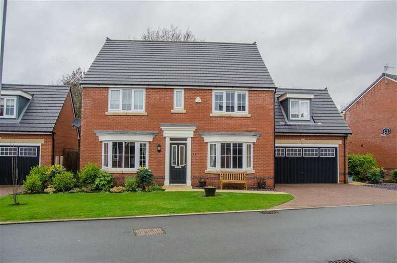 5 Bedrooms Detached House for sale in Cedars Close, Mickle Trafford, Chester, Chester