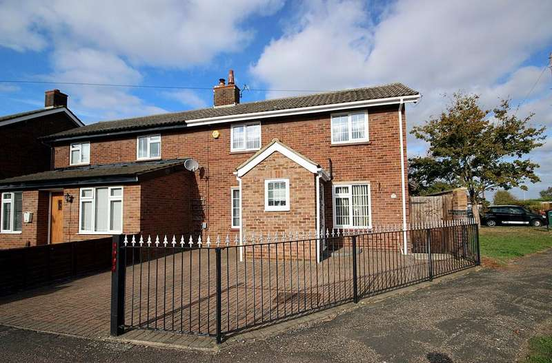 2 Bedrooms Semi Detached House for sale in Denny Crescent, Langford, SG18