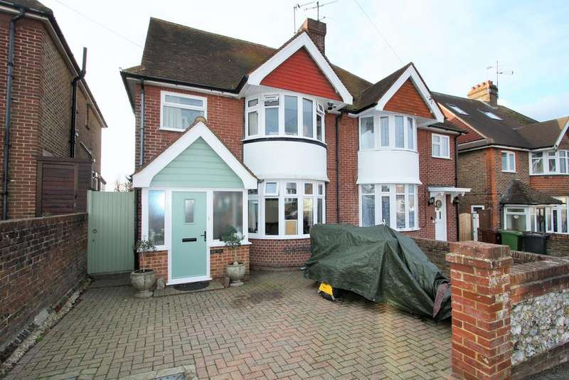 4 Bedrooms Semi Detached House for sale in Harding Avenue, Eastbourne BN22