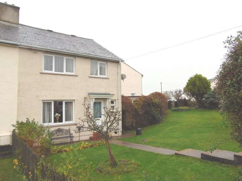 3 Bedrooms Semi Detached House for sale in 79 Towncroft, Dearham, Maryport, Cumbria, CA15 7HY