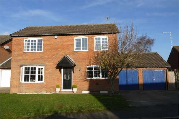 4 Bedrooms Detached House for sale in Elmcroft Road, North Kilworth, Lutterworth, Leicestershire