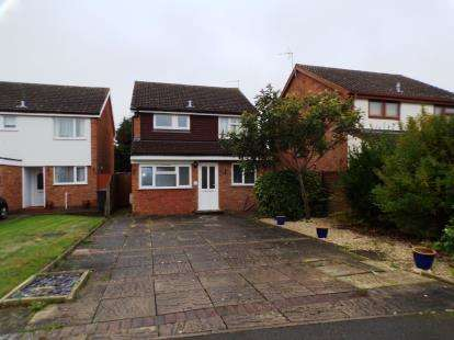 3 Bedrooms Detached House for sale in Hillson Close, Marston Moretaine, Bedford, Bedfordshire
