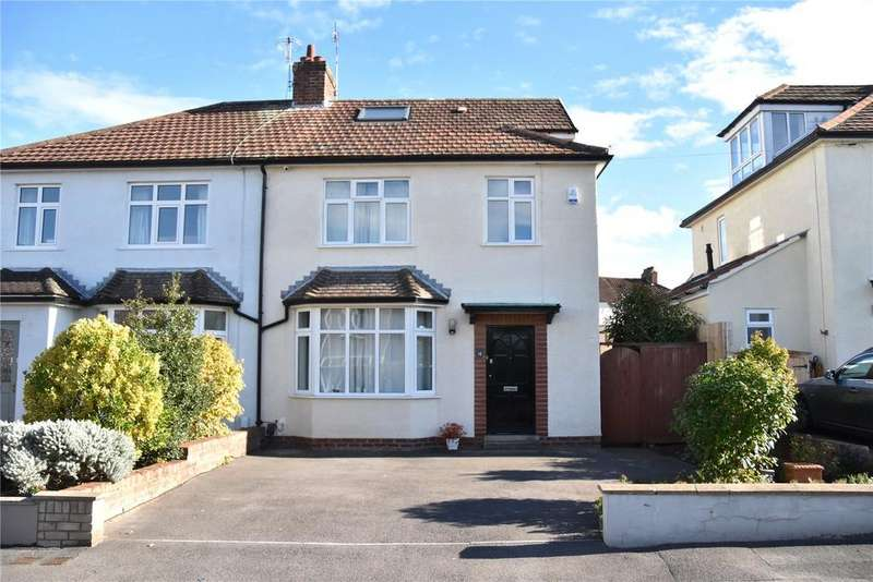 4 Bedrooms Semi Detached House for sale in Rysdale Road, Westbury-On-Trym, Bristol, BS9