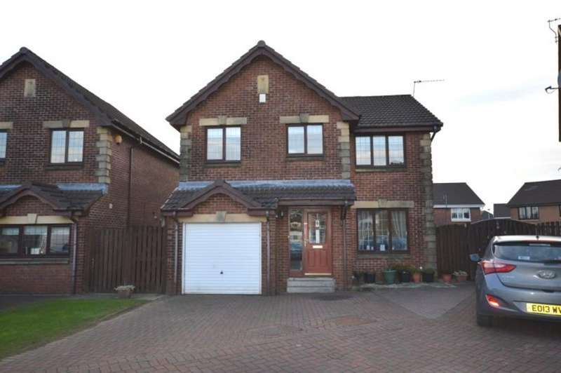 4 Bedrooms Detached House for sale in Berenice Place, Dumbarton G82 1BL