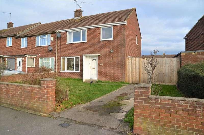 3 Bedrooms Terraced House for sale in The Meadway, Tilehurst, Reading, Berkshire, RG30