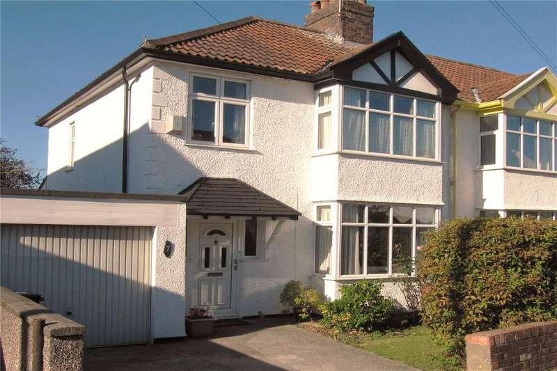 3 Bedrooms End Of Terrace House for sale in Cranham Road, Westbury-on-Trym, Bristol, BS10