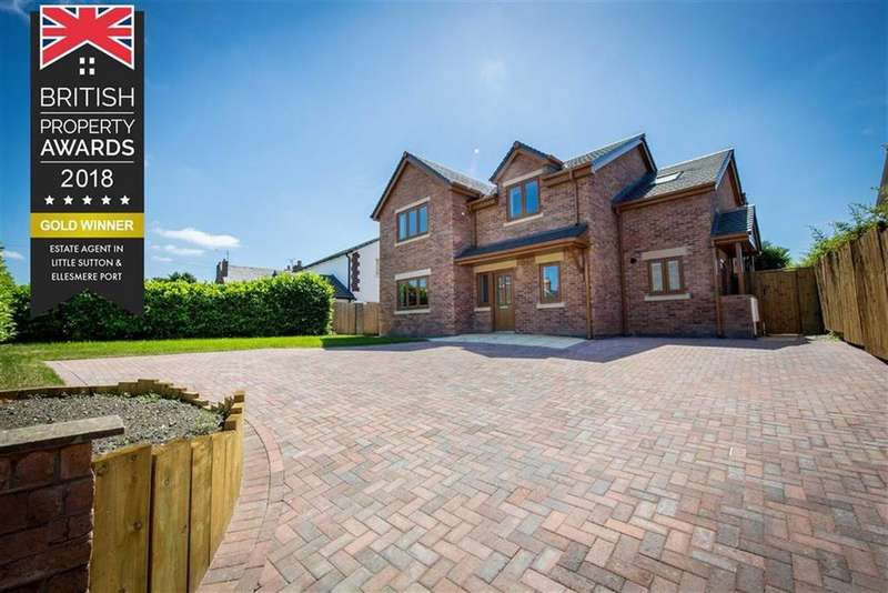 4 Bedrooms Detached House for sale in School Lane, Childer Thornton, CH66