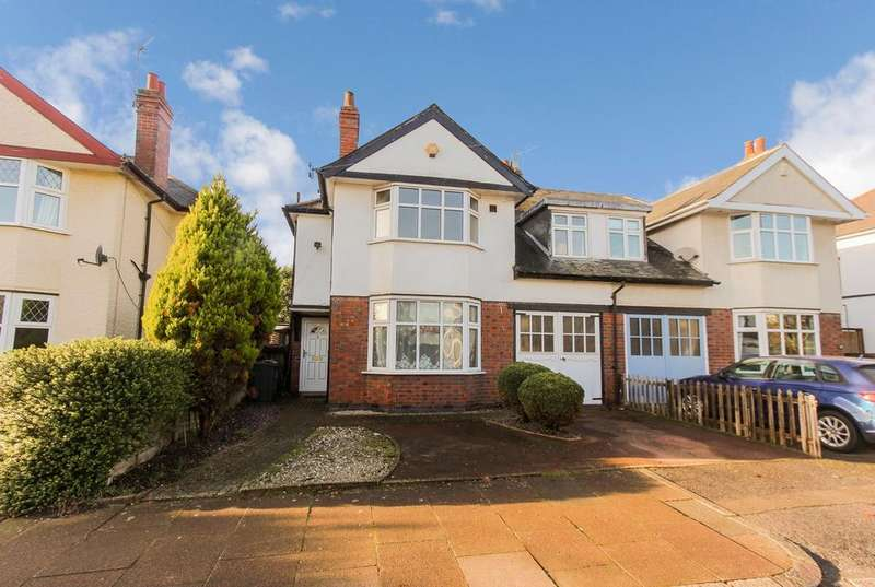 4 Bedrooms Semi Detached House for sale in Clarefield Road, Leicester, LE3