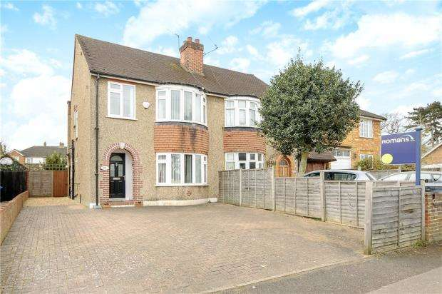 3 Bedrooms Semi Detached House for sale in Clewer Hill Road, Windsor, Berkshire