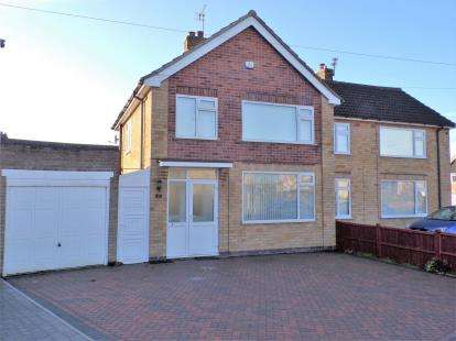 3 Bedrooms Semi Detached House for sale in Ingleby Road, Wigston, Leicester