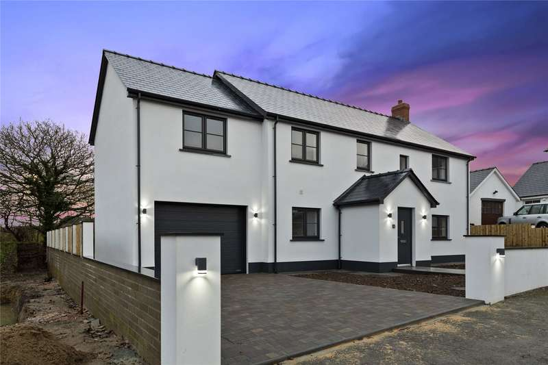 4 Bedrooms Detached House for sale in Poplar Meadow, Freystrop, Haverfordwest