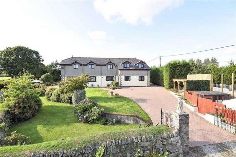 5 Bedrooms Detached House for sale in Menheniot, Liskeard, Cornwall, PL14
