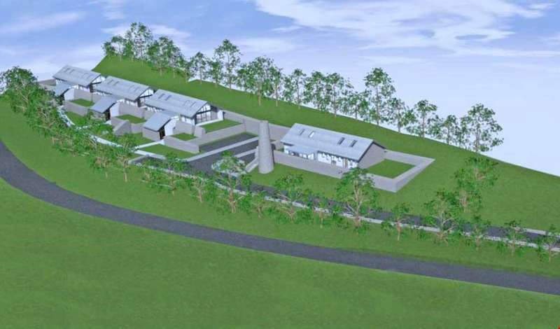 Plot Commercial for sale in Trethowel, Nr. St Austell, Cornwall