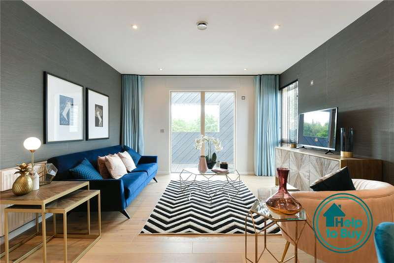 3 Bedrooms Apartment Flat for sale in Watford Riverwell, Thomas Sawyer Way, Watford, Hertfordshire, WD18
