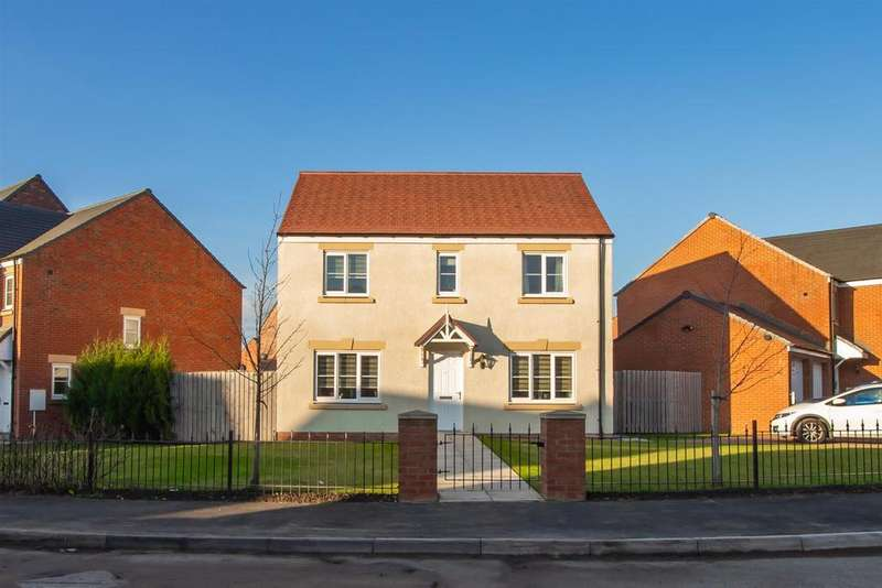 4 Bedrooms Detached House for sale in Gatcombe Way, Newfield, Chester Le Street