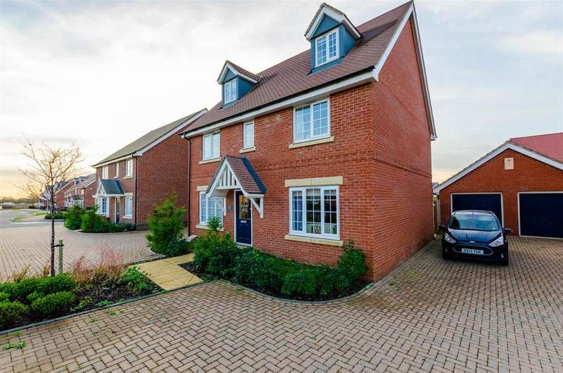 5 Bedrooms Detached House for sale in Norwich, NR5
