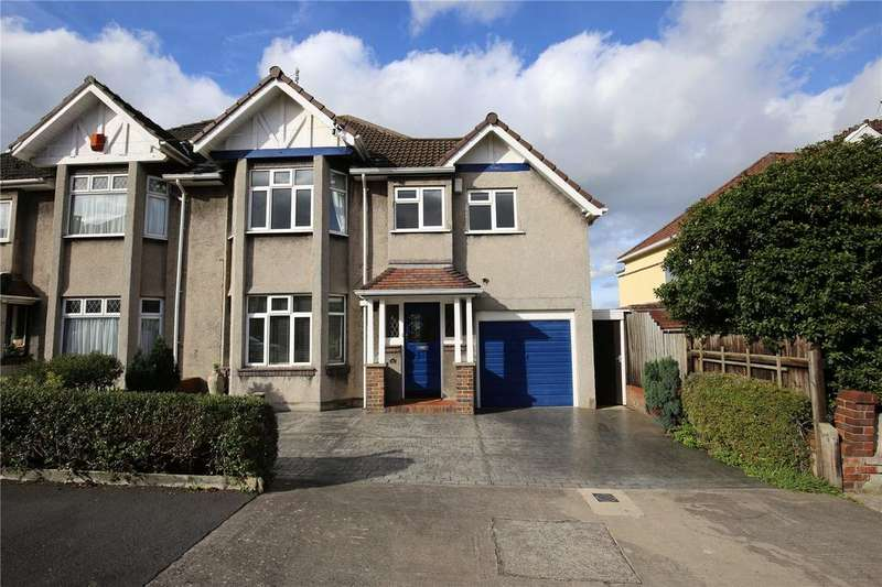 4 Bedrooms Semi Detached House for sale in Hill Grove, Henleaze, Bristol, BS9