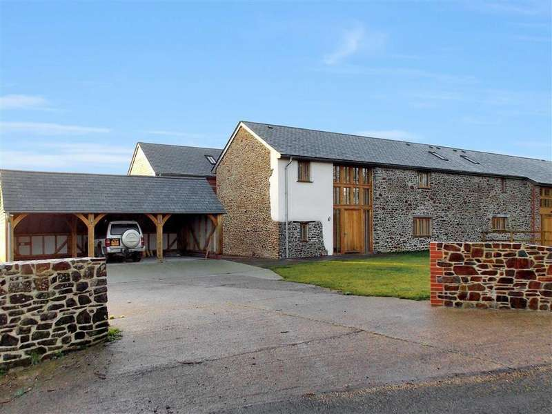 5 Bedrooms Detached House for sale in Sheepwash, Beaworthy, Devon, EX21